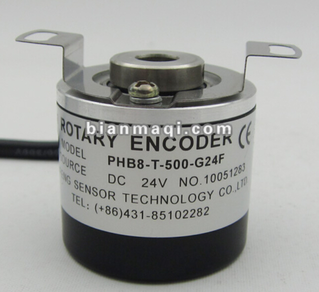 PHB8-T-500-G24F lift rotary encoder 500 lines of semi-hollow shaft 8mm outer diameter 38mm rotary encoderec40b6 l5ar 500