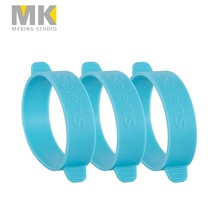 New 3pcs Meking Universal Rubber Gels Band For FLash light speedlite Speedlight tying Color Gels Filter