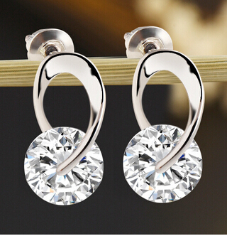 Women's Jewelry Gift Silver Plated Zircos