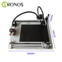 DIY Writing /Drawing Machine 3 Axis XYZ Plotter Robot, Working Area A4,High Precision Handwriting Printer /Touch Screen