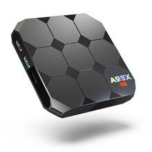A95x R2 Android 7.1 2 г Оперативная память 16 Умные телевизоры коробка rk3328 quad-core Встроенная память Декодер каналов кабельного телевидения спутниковый ресивер 4 К 3D H.265 карты памяти медиаплеер