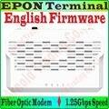 EngFirmware EPON Terminal de acceso De Fibra de fibra óptica módem IEEE 802.3ah 1.25 Gbps SC/PC Puerto EPON ONT a 1000 Gigabit RJ45 Puerto