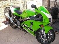 ABS Plastik motosiklet grenaj seti, Yeşil Fairing KAWASAKI Ninja ZX7R ZX 7R ZZR 750 1996 2003 96 97 98 99 00 01 02
