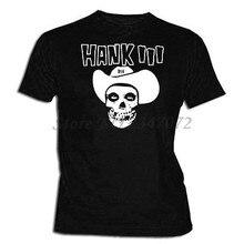 Hank III T Camiseta XXL-XL-L M S-Tamanhos de Música Country Hank Williams 3 T-Shirt homens de algodão verão camisetas 4XL 5XL EURO TAMANHO