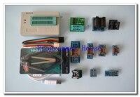 100% original XGECU V9.00 TL866II Plus TL866A nand flash 24 93 25 USB Universal bios eepro AVR programmer+9adapters+PL clip