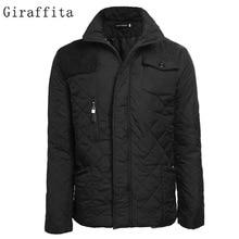 Big Size 2017 Down Men's Jacket Ultralight Casual Outerwear Snow Warm Collar Brand Coat Parkas