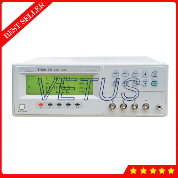 TH2817B 20 times/second high performance Digital LCR Meter of 10 sets measurement parameters saved