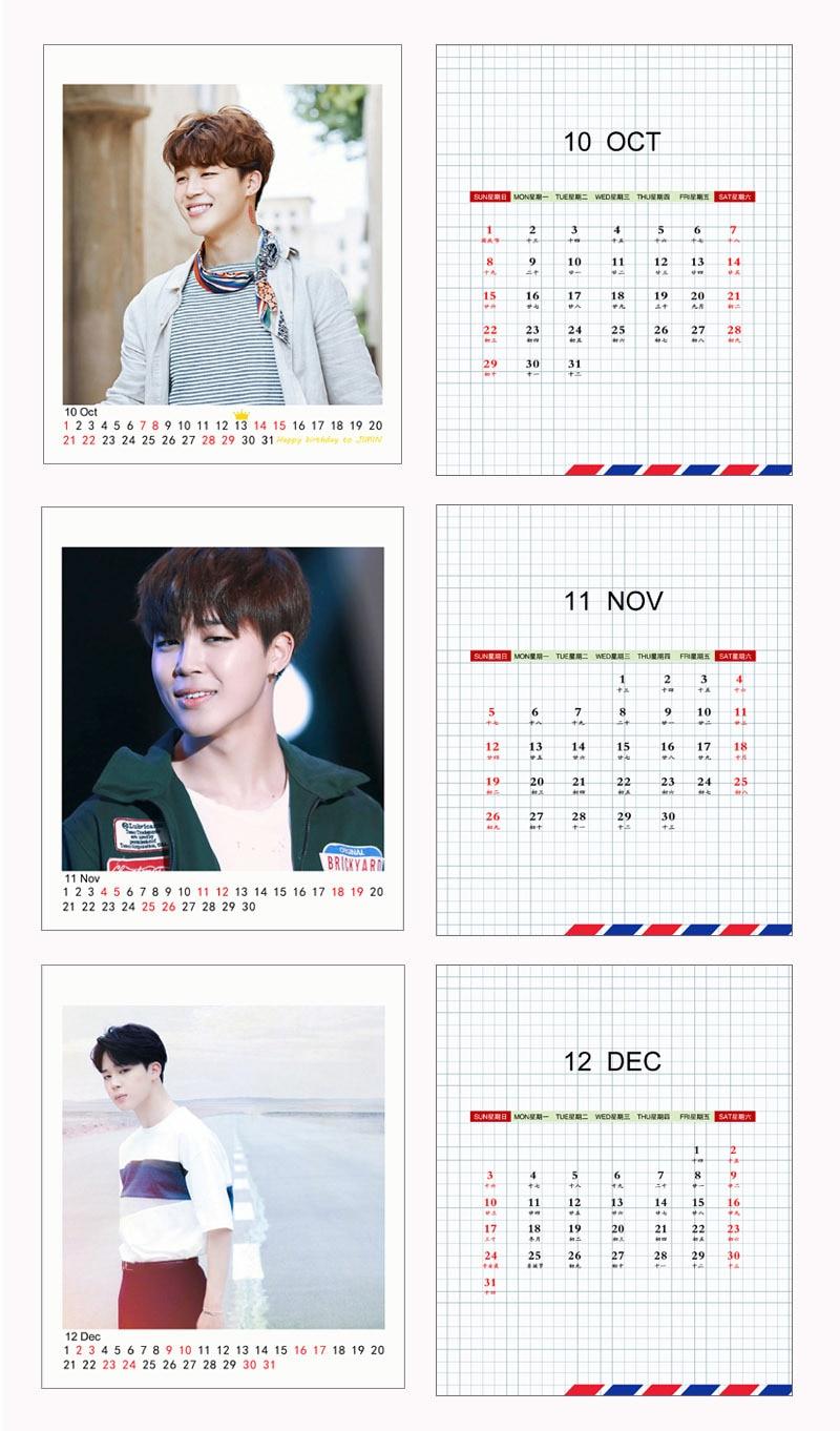 Diy Kpop Calendar : Bts calendar