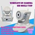 Pt Cámara IP Inalámbrica WiFi Seguridad Para El Hogar de Vigilancia de audio 1.0 mega 720 P Monitor de Bebé de Visión Nocturna CCTV sd tarjeta de memoria alarma