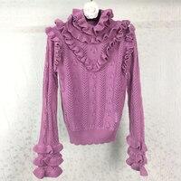 Взлетно посадочной полосы свитер Для женщин Водолазка пуловер Для женщин S трепал Свитеры для женщин 2017 шерсть Свитера, пуловеры зима
