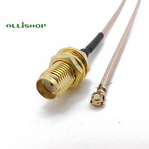 Allishop 0-6 ГГц Расширение косичку Перейти SMA женский розетки разъем адаптера к U. FL разъемы IPX RG178 кабель для Wi-Fi маршрутизатор gps AP