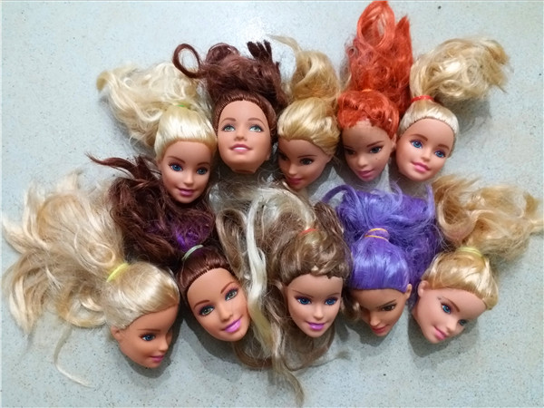 2017 Barbie үшін 10pcs / lot көтерме түпнұсқа - Қуыршақтар мен керек-жарақтар - фото 6