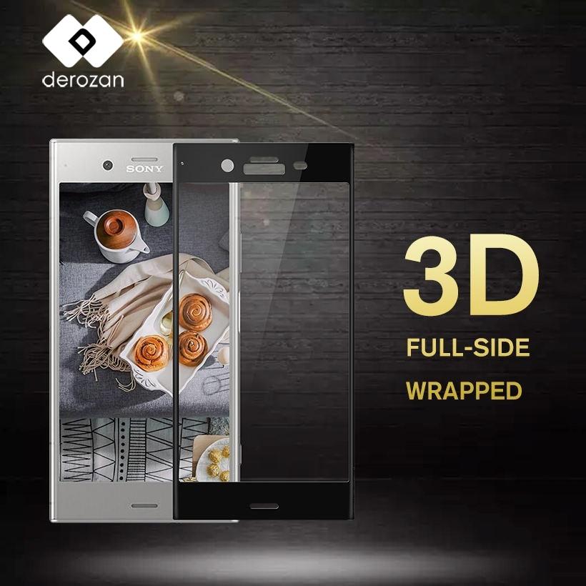 Screen Protectors For Sony Xperia XZ Premium Glass For Sony Xperia XZ Premium Tempered Glass 3D Curved Full Cover Film