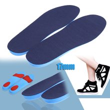 Antiskid Breathable Men Women Foot Care Tool Shock Absorption Full Length Hight Increase Insoles 260 to 286mm Shoes Insert Pads