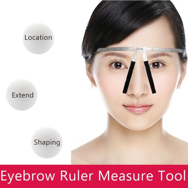 Permanent Makeup Symmetrical Measuring Tattoo Eyebrow Ruler Makeup