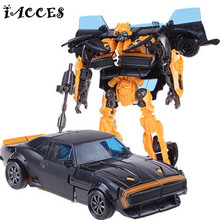 Cool Deformation Robot Car 4 Boy Toys Kids Anime Action Figure Brinquedo Dragon Model Christmas