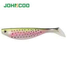 JOHNCOO New 2pcs Fishing Lures Soft Bait 15cm 26g Soft Lurs Iscas Artificiais Fishing Tackle Carp Fishing Baits Shad Lure Baits