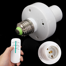 Led Lamp Base Bulb Holder e27 Screw Timer Switch Remote Control