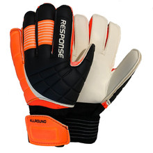 New Top Latex Football Goalkeeper Gloves Quality Male Soccer Professional ball Gift Armband