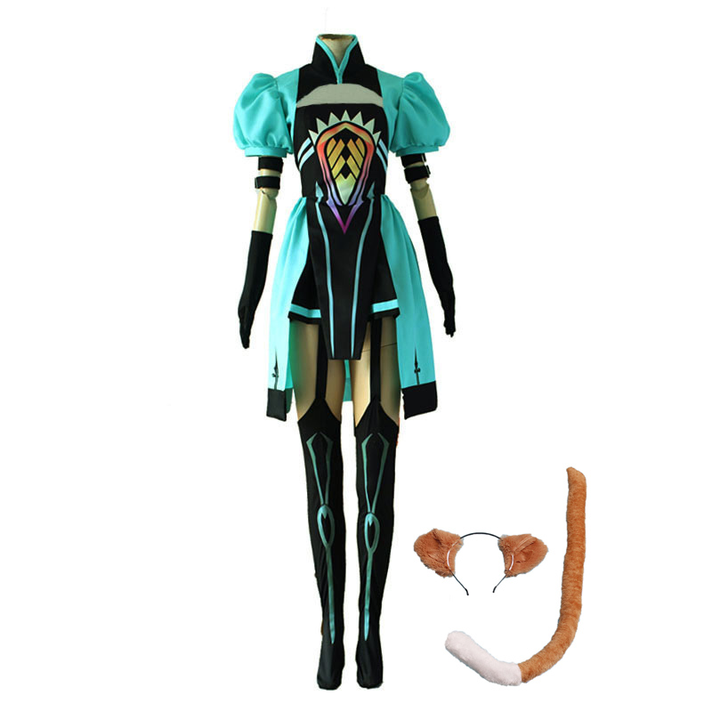 Anime Fate Grand Order Archer Atalanta Cosplay Costume Fate/Apocrypha Full Set Uniform Halloween Party Dress