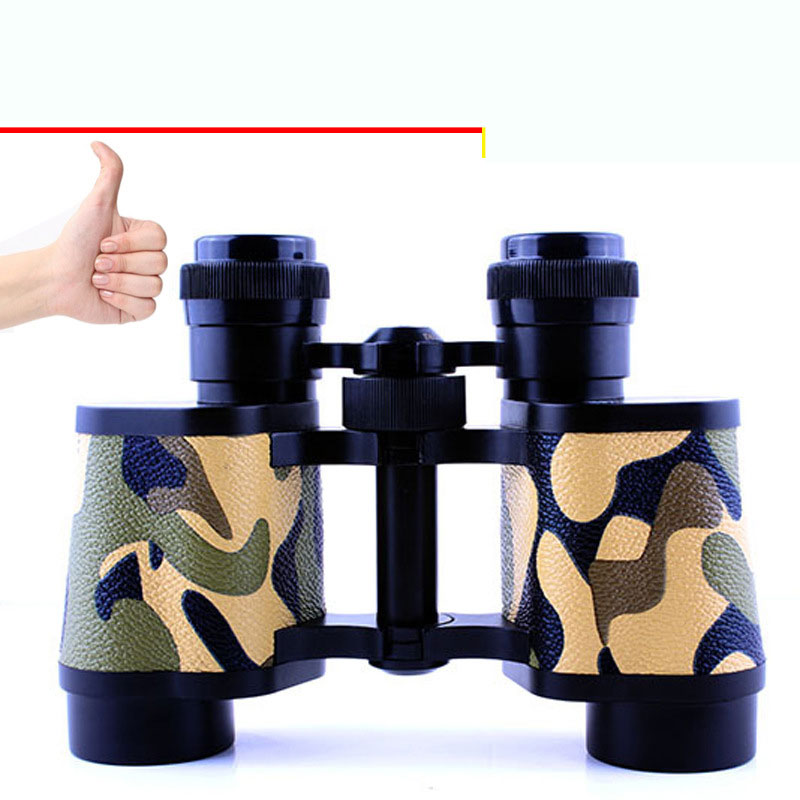 8X30 Telescope High - Power Low - Light Night Vision Non - Infrared Glasses Looking Camping Hunting Binoculars Bird - Watching binocular telescope high definition high double night vision non infrared for children adult concert glasses
