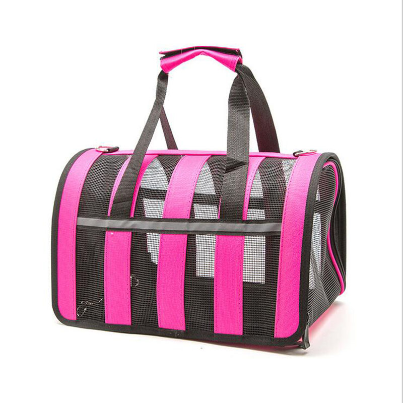 Breathble outdoor Dog Cat bags travel pet corduroy colorful cat carrier bag Colorful Handbag S/M Size Pet Bag pet carrier