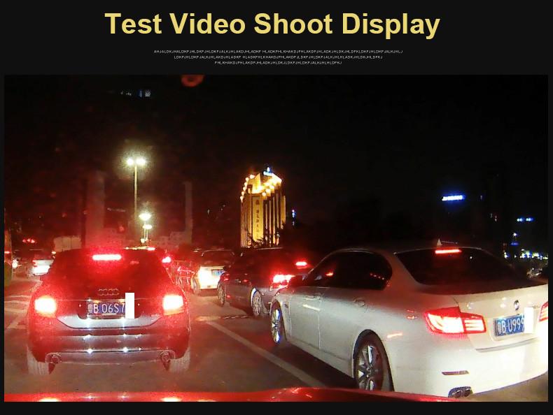 E-ACE Car Dvr 1080P Dual Lens Dash Camera Rear Mirror Digital Recorder With Rearview Camera Video Recorder Camcorder Registrar 17