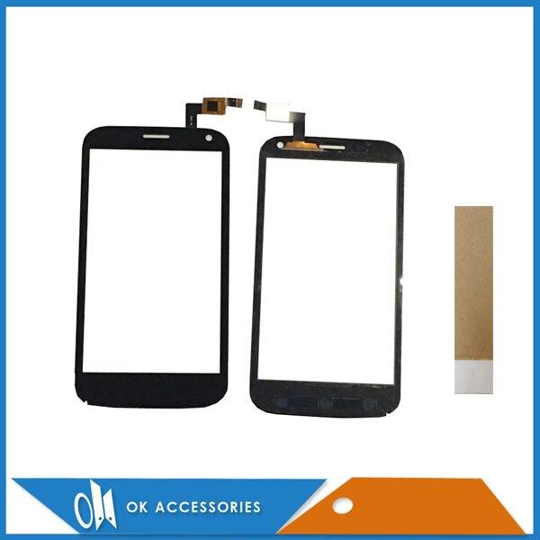 5,0 дюймов для Micromax A82 сенсорный экран планшета черные туфли высокого качества цвет с клейкие ленты