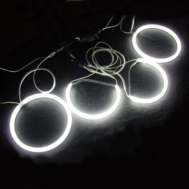 Ccfl Halo Rings Angel Eyes Lights For Lexus Is200 Is300-4097