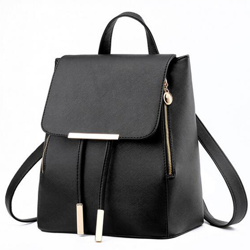 729984f5d071 Vogue Star Fashion women backpack school backpacks for teenage girls women  leather backpack school bags mochila LS135-in Backpacks from Luggage   Bags  on ...
