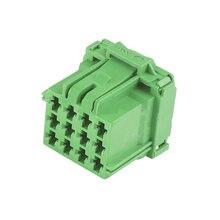 12 pin Пластиковые части водонепроницаемый соединитель жгута