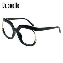 a5c6411083 Penuh Rim Mewah Kreatif Terlalu Besar Kacamata Miopia Vintage Retro Optik  Kacamata Spectacle Frames