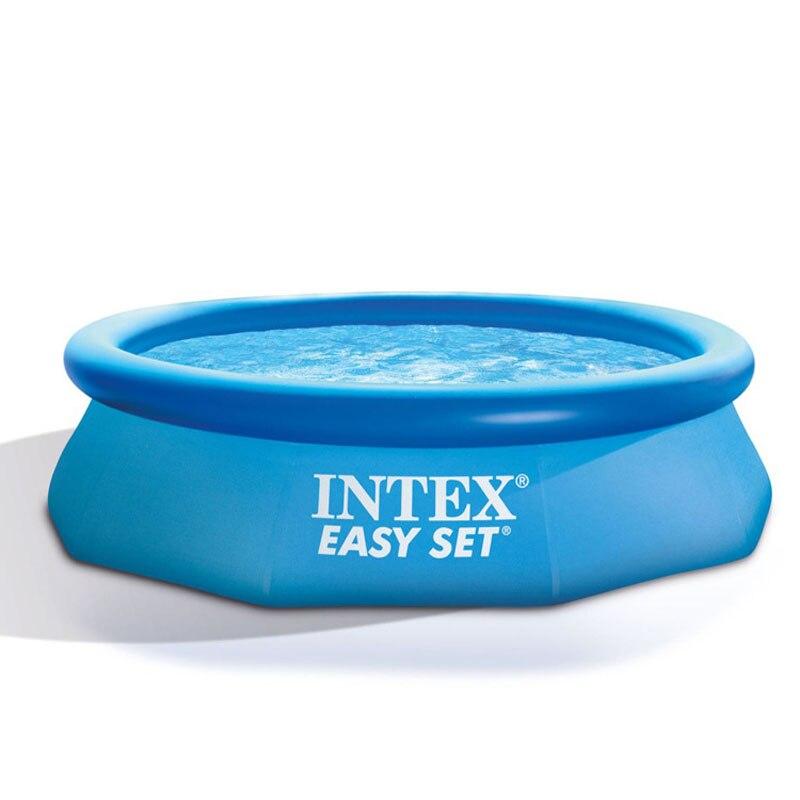 Intex Ultralarge 305*76 CM Piscine 28120 Piscine Gonflable Piscine Gonflable Piscina Enfants Piscine Baignoire Avec Pompe À Main