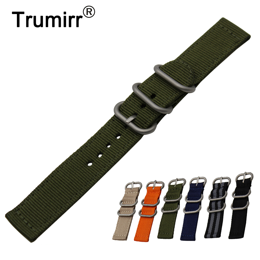 24mm Nylon Watch Band + Tool for Sony Smartwatch 2 SW2 Zulu Fabric Strap Wrist Belt Bracelet Black Gray Blue Brown Green Orange цена