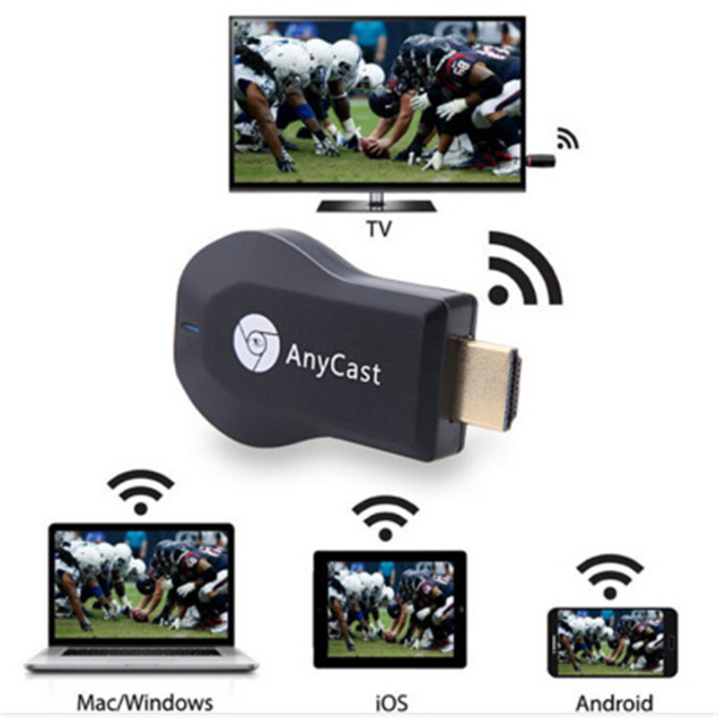 128M Anycast m2 Miracast Any Cast Wireless DLNA AirPlay Mirror HDMI TV Stick Wifi Display Dongle Receiver for IOS Android