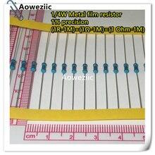 Металлический пленочный резистор 1r 1m 100r 220r 330r 1k 100k