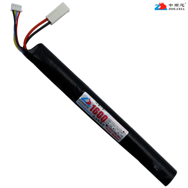 In the 18650 model CS core 11.1V 1600mAh cylinder power lithium battery 12V M4 AK47 MP5 Rechargeable Li-ion Cell hot sale 4a 5a 4 string 18650 li ion lithium battery cell protection board