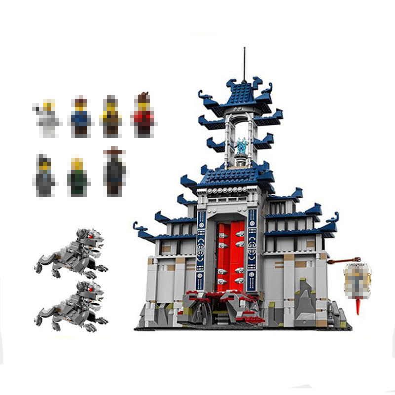 Фотография Lepin 06058 1501pcs Movie Temple Of The Ultimate Weapon Building Blocks Bricks Educational legoed Toys For Children Gifts 70617