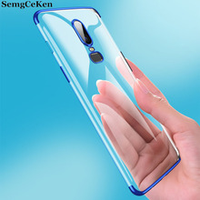 SemgCeKen silicone case for oneplus 5 5t 6 6t 7 pro 7pro one plus ultra thin luxury silicon soft tpu clear slim back phone cover все цены