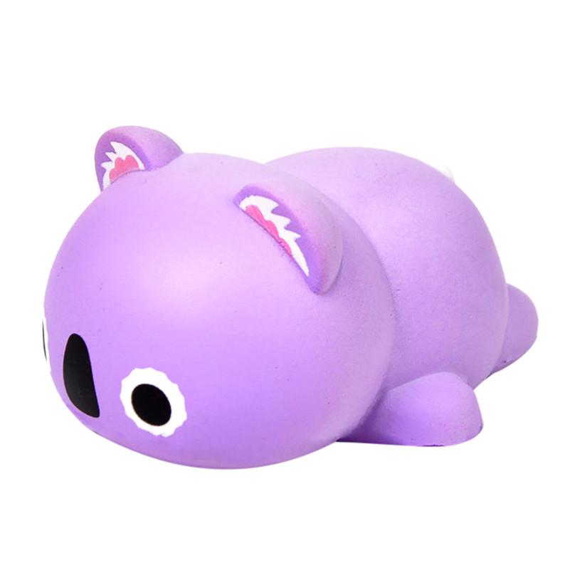 Hot Slow Rebound Decompression Toy Cute Simulation Animal Toy Beautiful Jumbo Squishies Quash Antistress Games Anti-stress F1