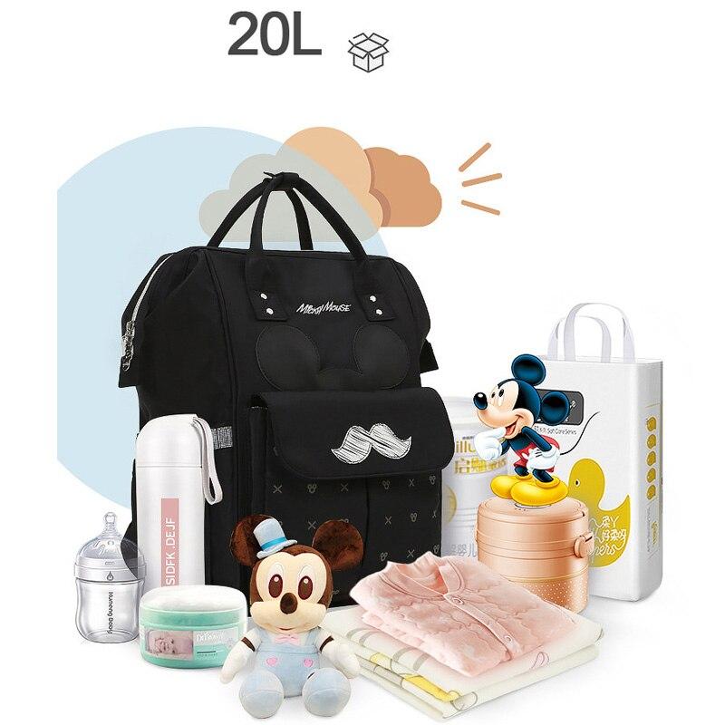 Diaper Bag Maternity Nappy Backpack Large Capacity Nursing Travel Backpack Heat Preservation