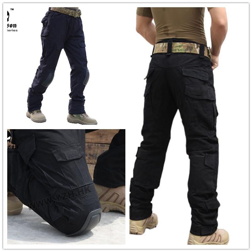 Emerson Gen2 Pants with knee pads Combat Tactical airsoft Pants black 6988 emerson kryptek typhon camo g3 pants with knee pads combat tactical airsoft pants em7036