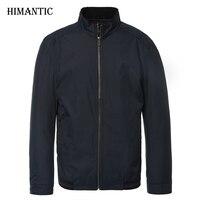 Men Jacket Male Business Casual Mandarin Collar Solid Jackets Brand New Men S Fashion Overcoat Jackets