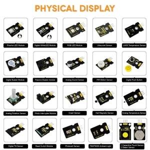 Image 3 - Keyestudio 37 in 1 Sensor  Starter Kit With Micro:Bit Board for BBC MicroBit DIY Projects (Including Micro:Bit Board  )