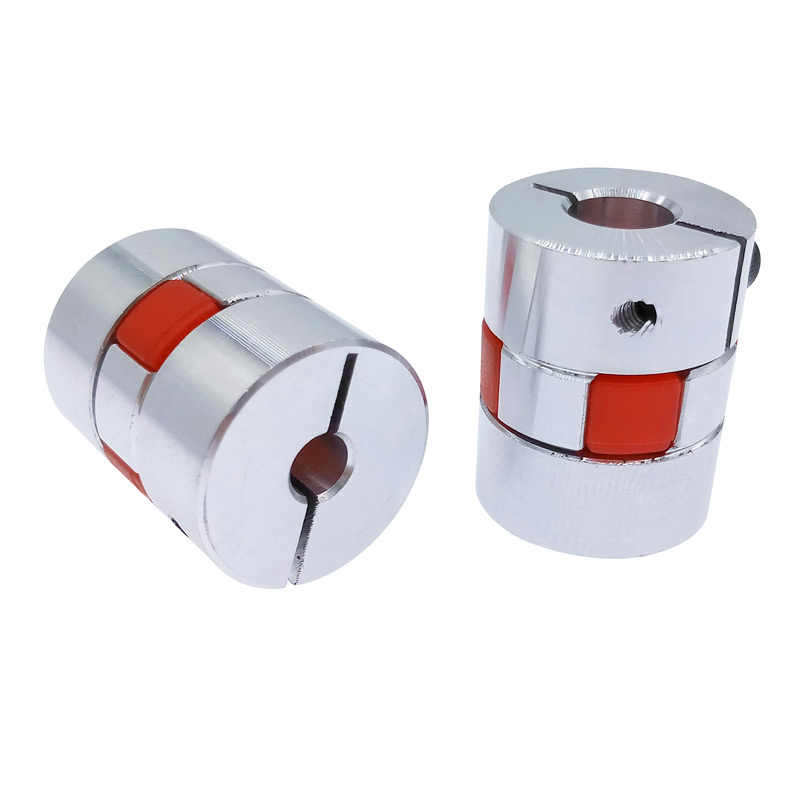 D20L25 jaw flexible motor coupling aluminium CNC spider flexible jaw coupler 5x8mm 3mm 4mm 5mm 6mm  6.35mm 7mm 10mm