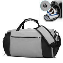 Lightweight Sports Gym Bag With Dry Pocket Travel Dufeel Shoe Compartment For Men Nylon Fitness Women Black