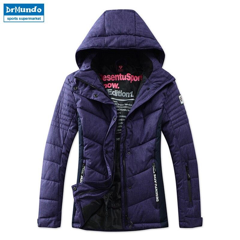 New Snow Ski Jacket Women Waterproof Windproof Warm Skiing Jackets Sportwear Female Cotton Winter Coat Ski