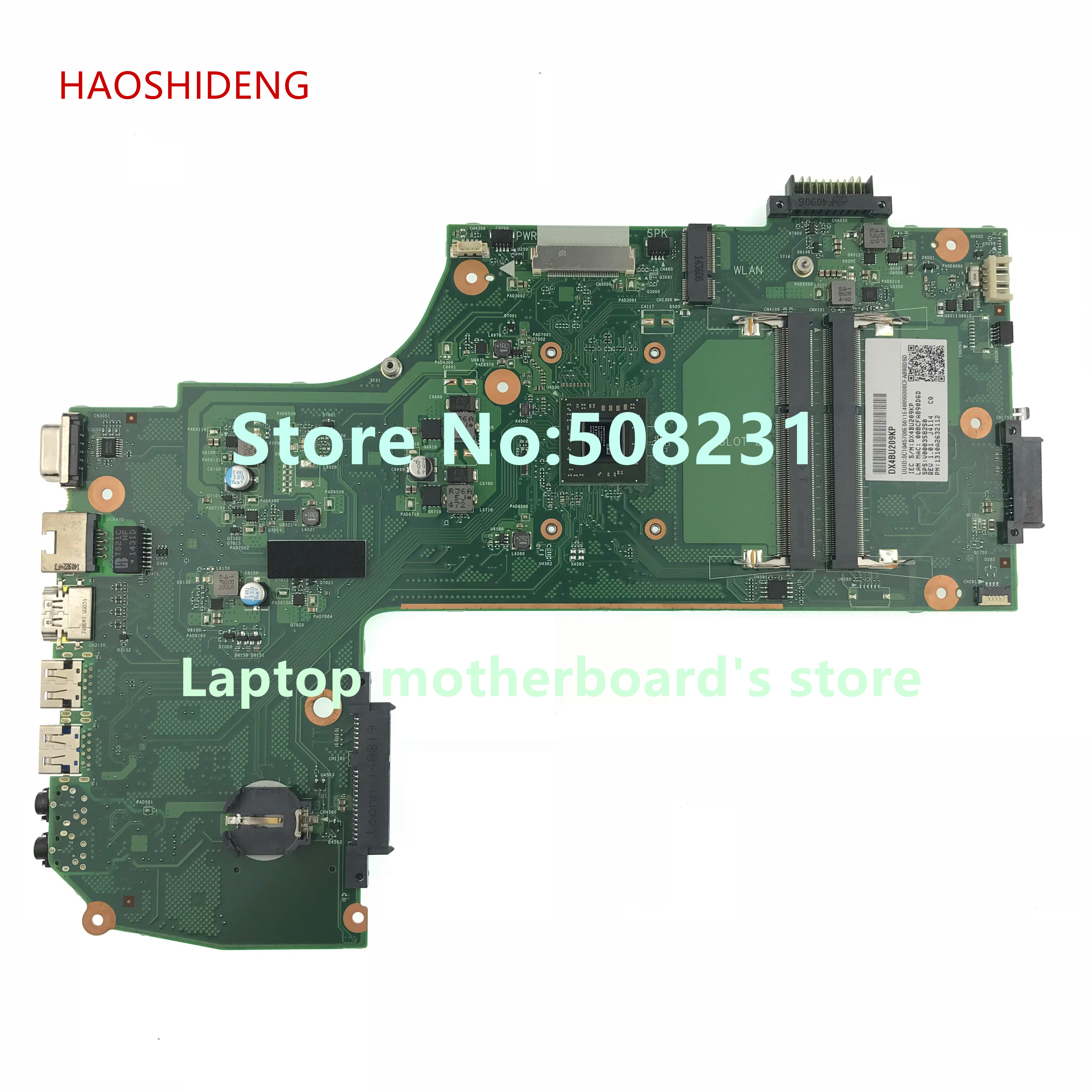 HAOSHIDENG V000358250 For Toshiba Satellite C75D C75D-B C75D-B7260 Motherboard AR10AN-6050A2632101-MB-A01 fully Tested