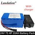 Аккумуляторная батарея 7s4p 10Ah, литий-ионная аккумуляторная батарея 29,4v10ah18650, электрический велосипед, повседневная машина, тележка для гольф...
