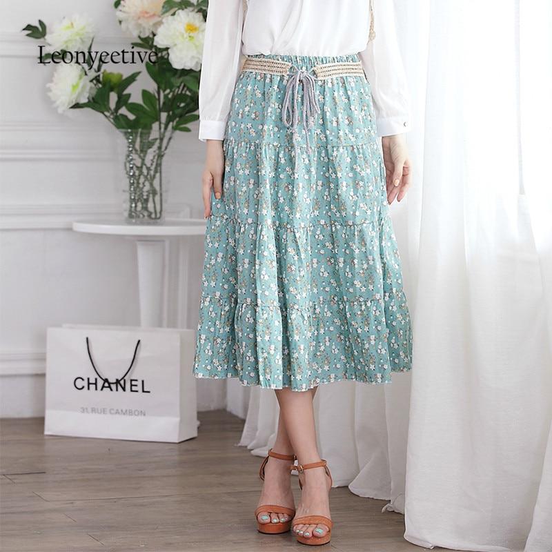 Popular Cotton Floral Skirt-Buy Cheap Cotton Floral Skirt lots ...